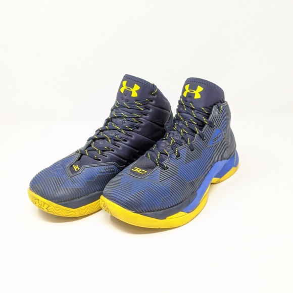 Under Armour Curry 25 Blueyellow Size